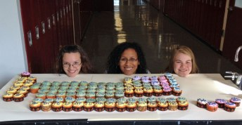 NHA students create an edible periodic table. YUM!