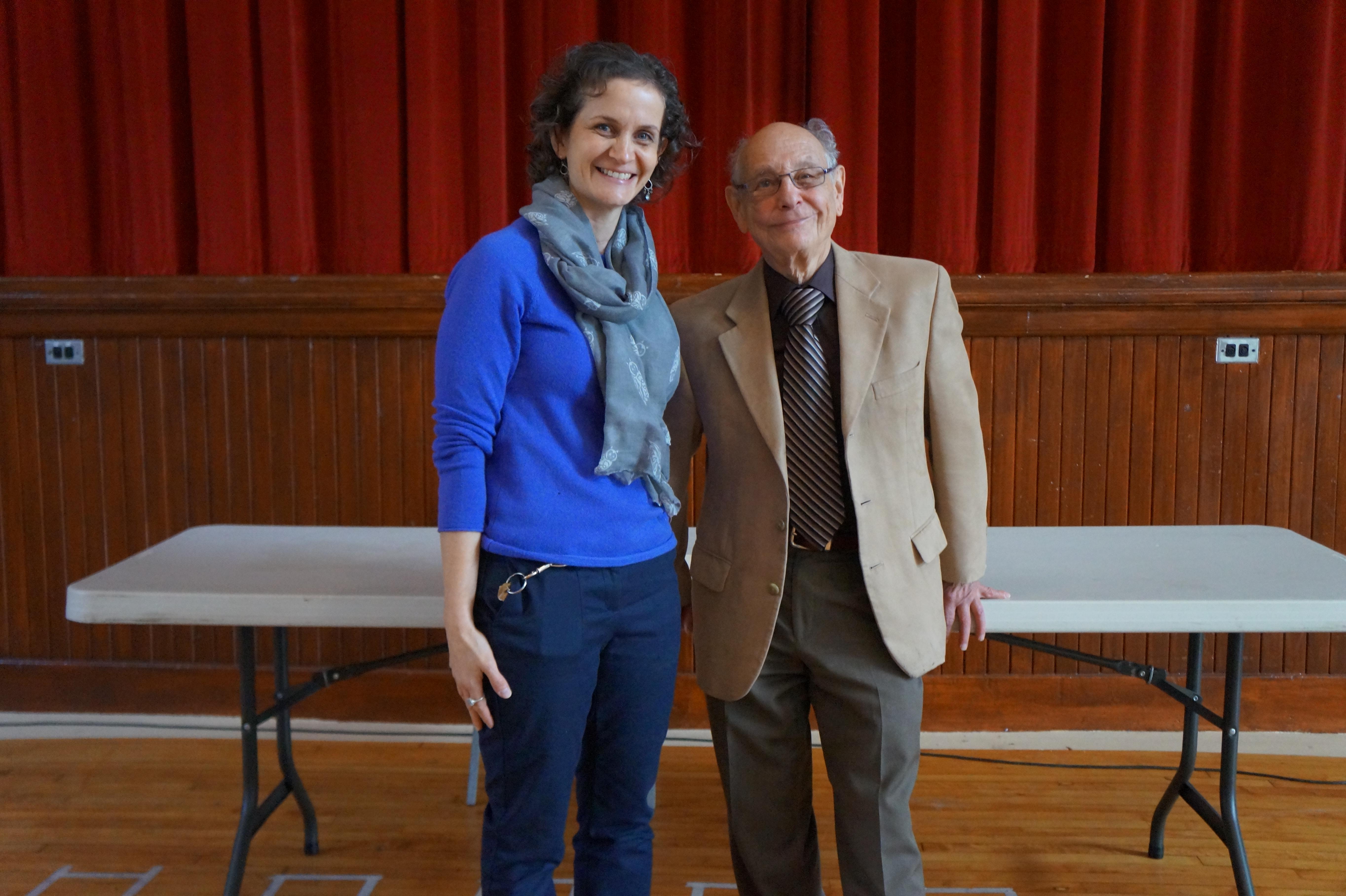 Holocaust Survivor Visits Facing History Classes   New Haven Academy