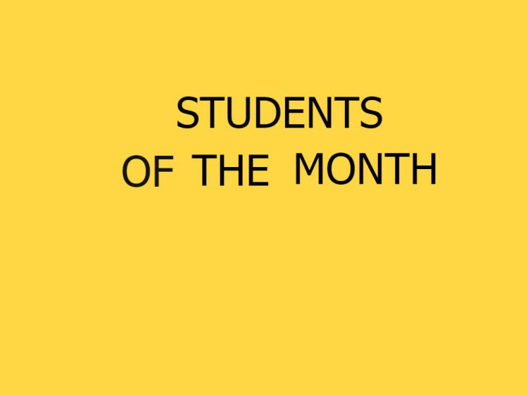 students-of-the-month