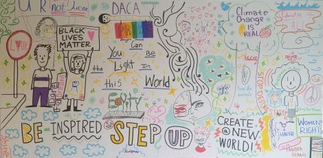 NHA Arts and Activism Mural